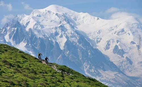 Mountain Biking in Chamonix