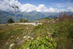 High Altitude Downhill Trails in Les Arcs