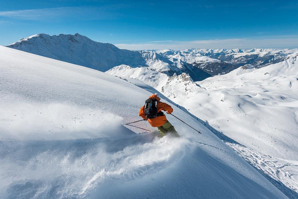Off-Piste Skiing in Les Arcs