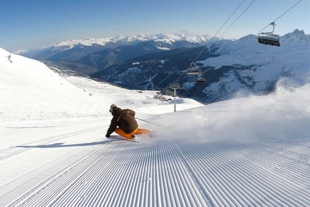Skiing in Méribel in The 3 Valleys